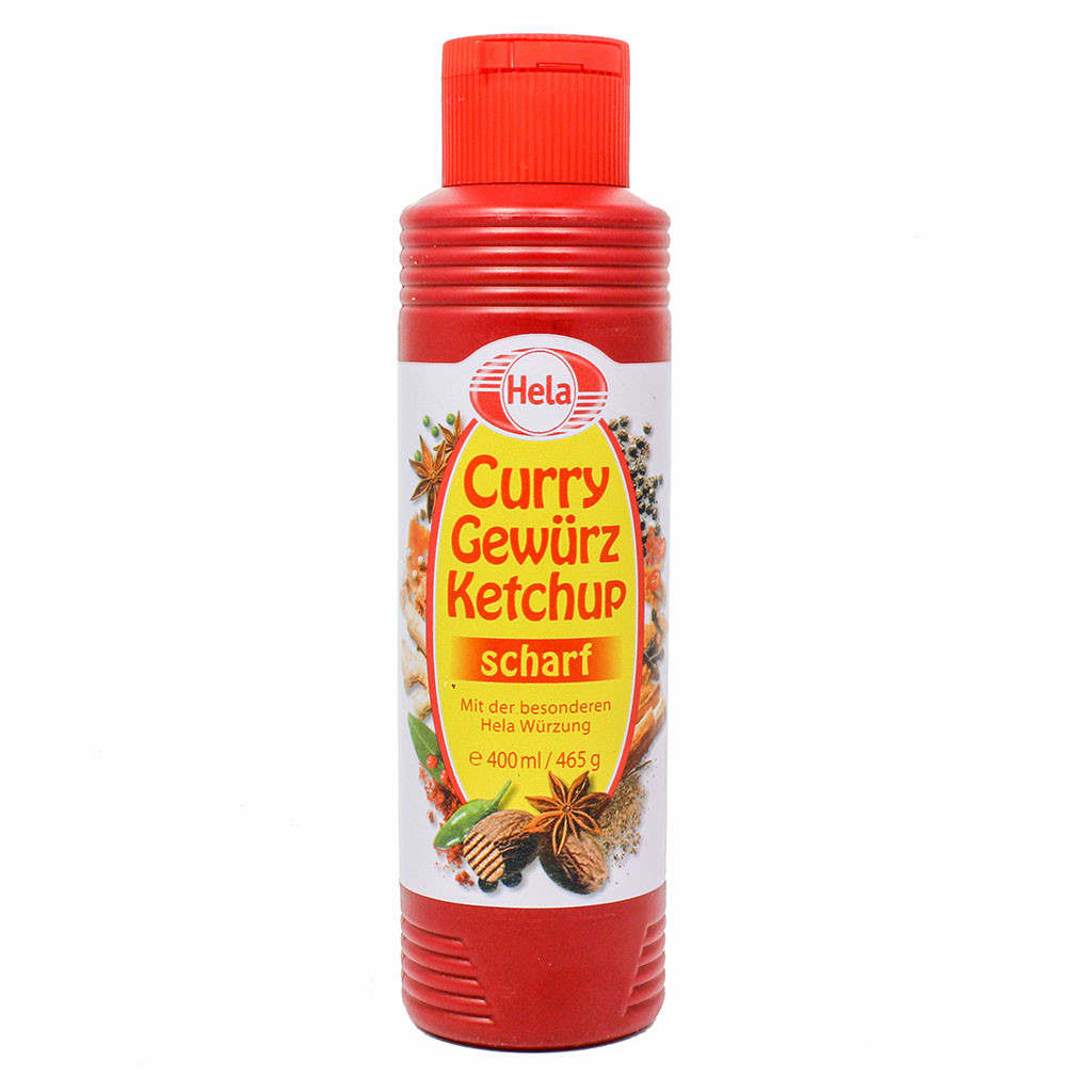Hela Curry Gewurz Ketchup Scharf (spicy) (OUT OF STOCK)