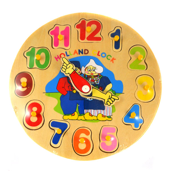 Dutch Clock Puzzle