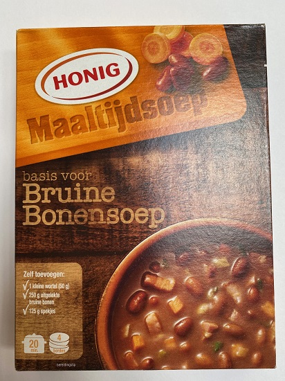 Honig Bruine Bonen mix (brown bean soup) (7 LEFT)