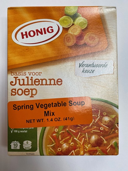 Honig Julienne soep / Spring Vegetable soup mix (9 LEFT)