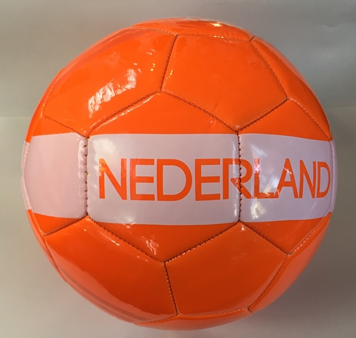KNVB Premium Soccer Ball - Black or Orange (2 ORANGE LEFT) (1 BL