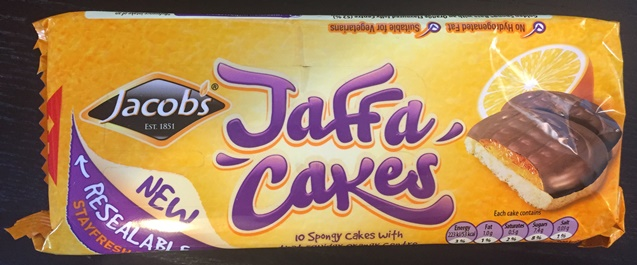 Jacobs Orange Jaffa Cakes (4 left)