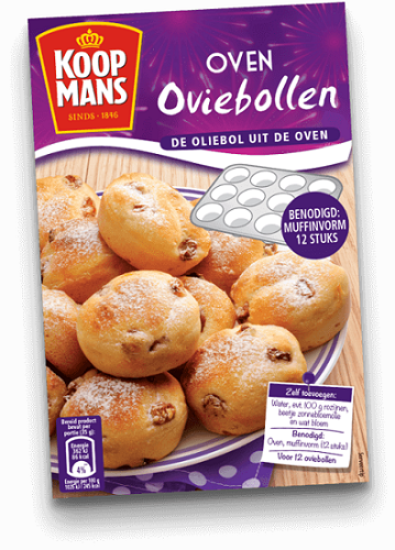 *Koopman's Oviebollen Mix (for in the oven)