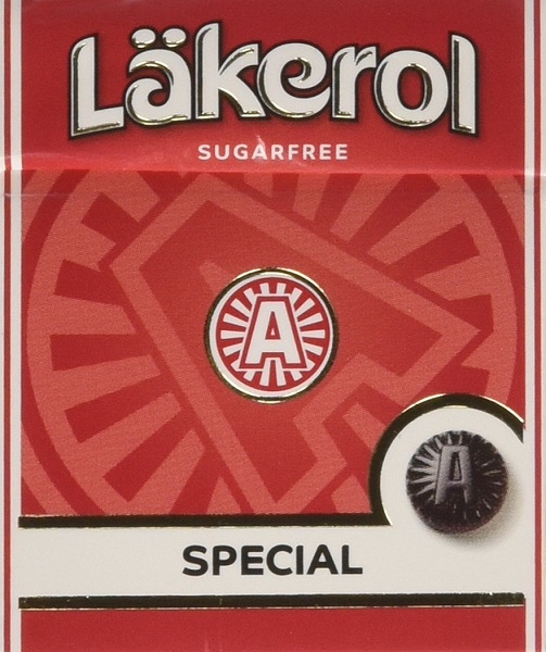 Lakerol Special Menthol Licorice Sugarfree (SELL-BY 05/02/2019)