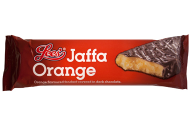Lees Jaffa Orange Bar