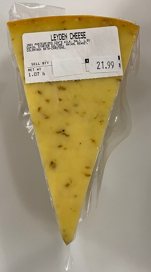 Dutch Leyden Cheese (large block)(pre-order)