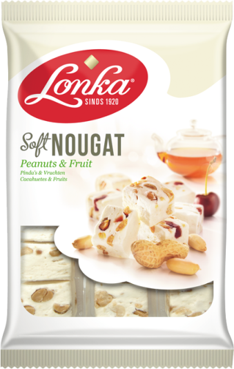 *Lonka Nougat Peanut & Fruit  (ONLY 1 LEFT)