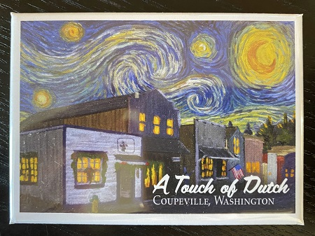 A Touch Of Dutch Starry Night Magnet