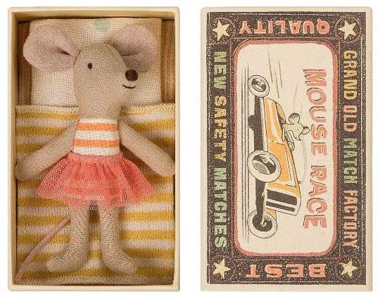 Maileg Big Sister Mouse in Box (ONLY 2 LEFT)