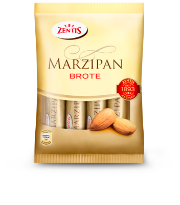 Zentis Marzipan Breads - choc covered logs (ONLY 2 LEFT)