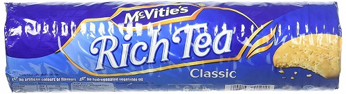McVities Rich Tea Biscuits (vegetarian)