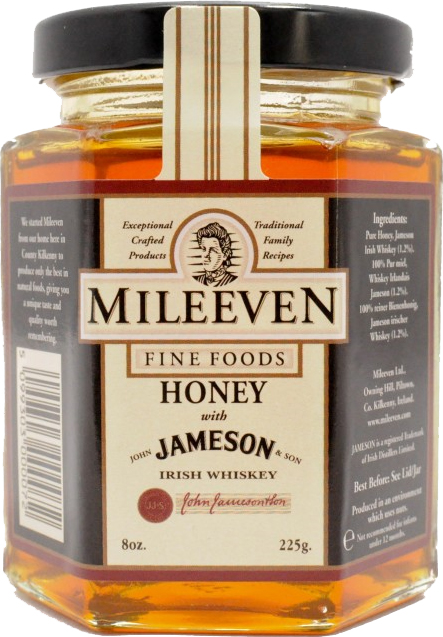 *Mileeven Honey with Jameson Irish Whiskey (ALCOHOL)