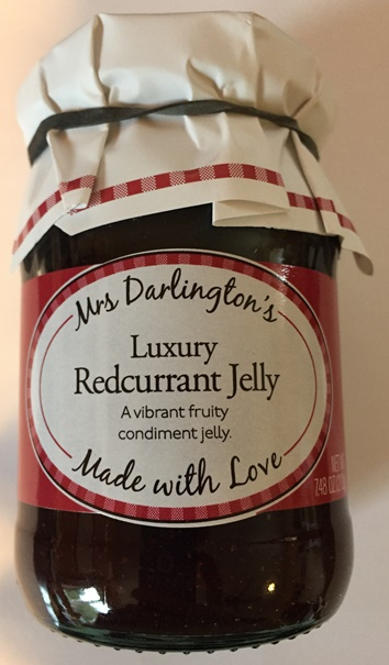 Mrs. Darlingtons Luxury Redcurrant Jelly (ONLY 1 LEFT)