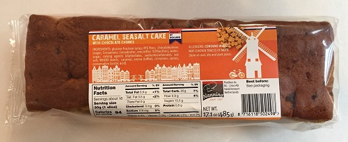 Nanning Caramel Seasalt & Choc Cake (OUT OF STOCK)