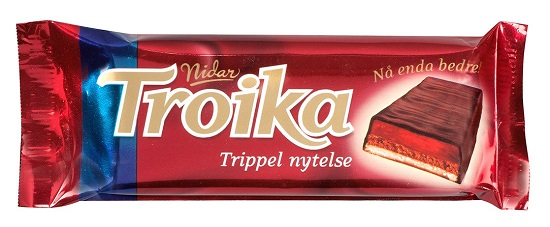Nidar Troika Choc Marzipan Truffles & Raspberry (OUT OF STOCK)