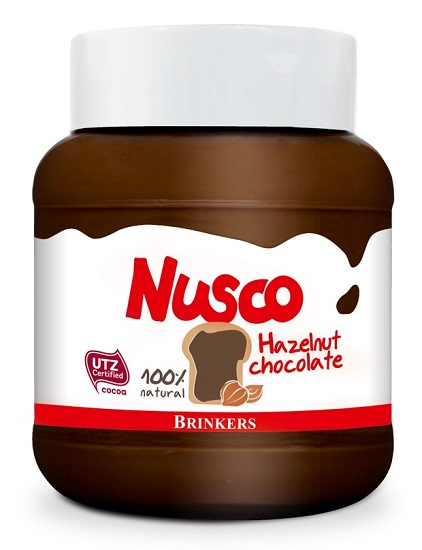 Nusco Hazelnut Chocolate spread (white lid)