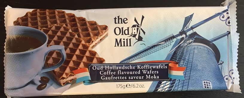 Old Mill - Oud Hollandsche Koffiewafels (Coffee flavored wafers)
