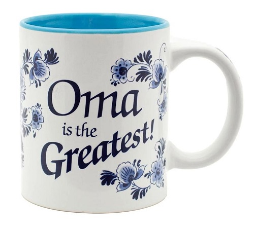 Oma is the Greatest Ceramic Mug