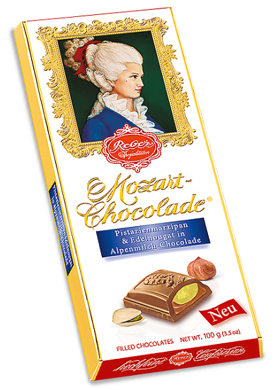 Reber Constanze Mozart Classic Milk Chocolate Bar (ONLY 4 LEFT)