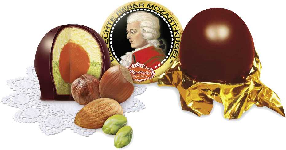 *Reber Mozart (single) Kugel (OUT OF STOCK)