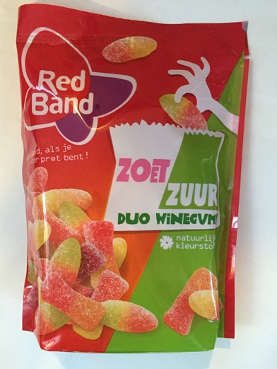 Red Band Duo Winegums Sweet Sour (out of stock)