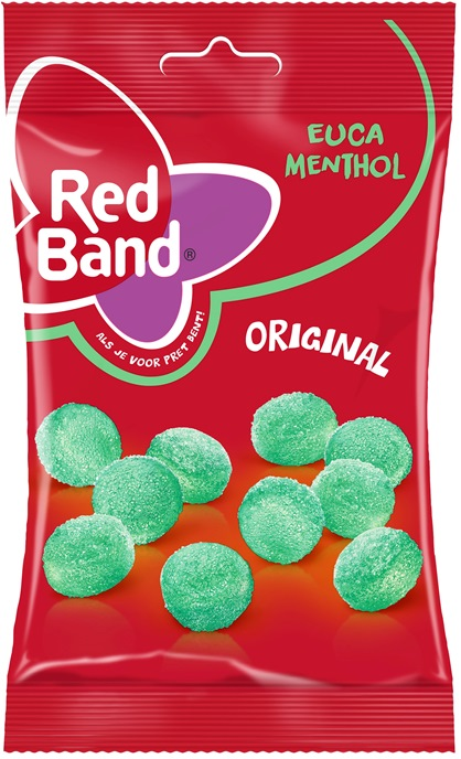 Red Band Euca-Menthol Bag (Menthol Groentjes) (SELL-BY 17JUL2020
