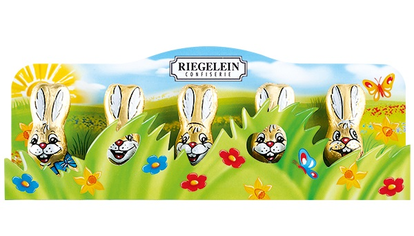 Riegelein Bunnies in the Grass (EASTER) (ONLY 1 LEFT)