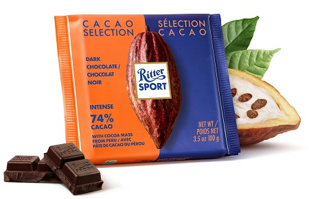 Ritter Sport Cacao Selection Peru Extra Dark (SELL-BY 01JAN2021)