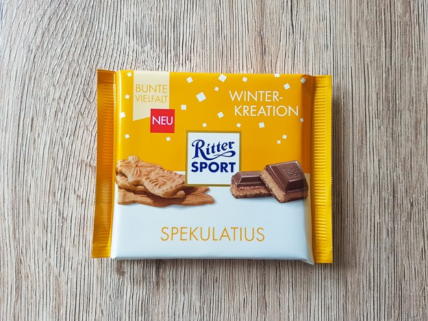 *Ritter Sport Spiced Biscuit (Spekulatius) (ONLY 2 LEFT)