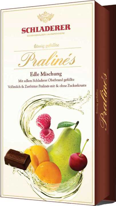 *Schladerer Asst. Brandy pralines (ALCOHOL) (6 LEFT)