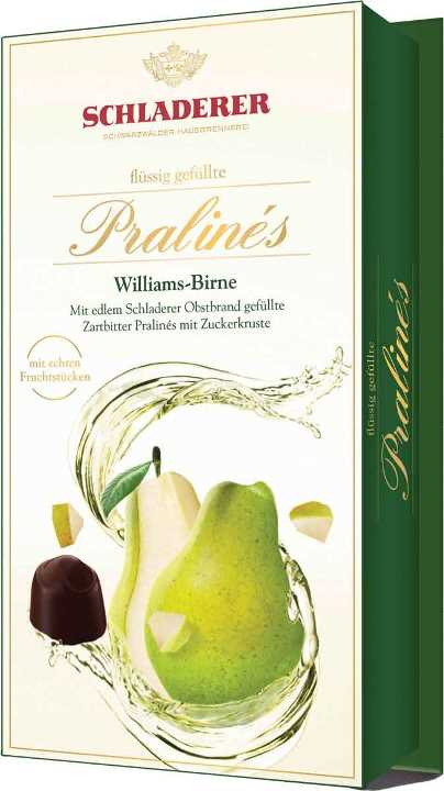 Schladerer Williams Pear Brandy pralines (ALCOHOL)(OUT OF STOCK)