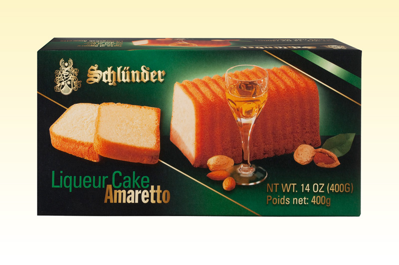 Schlunder Amaretto Liqueur Cake (ALCOHOL) 21+  (OUT OF STOCK)