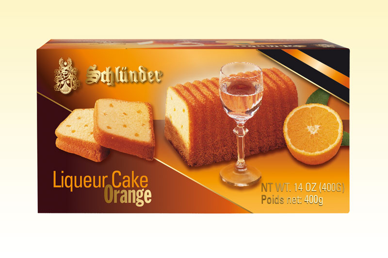 *Schlunder Orange/cointreau Liqueur Cake (ALCOHOL)