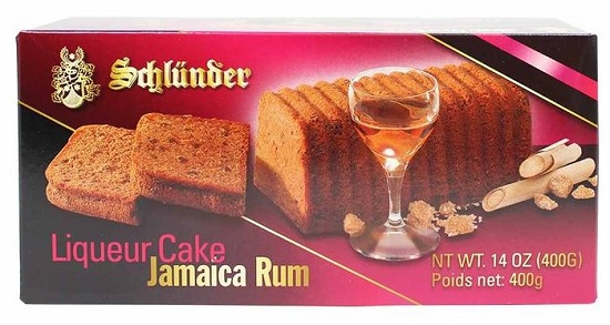 *Schlunder Jamaica (Rum Liqueur Cake (ALCOHOL) 21+ (Out of stock
