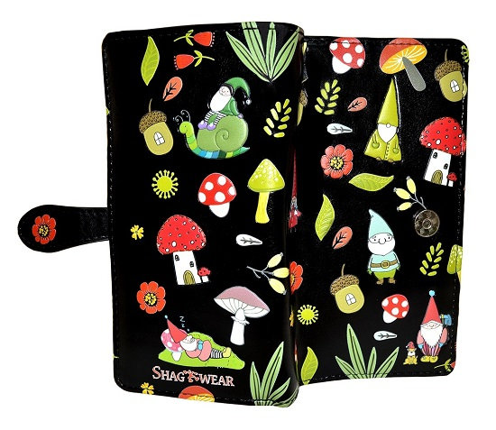 Wallet (large) Gnome Forest Black (OUT OF STOCK)