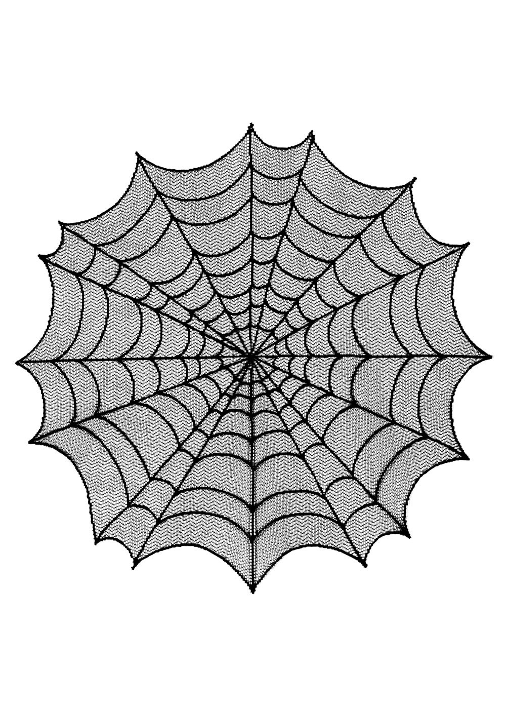 "Spider Web Table Topper 30"" round (1 LEFT) 30% OFF!"