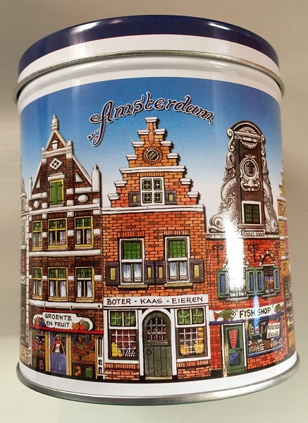 Stroopwafel Tin Amsterdam (EMPTY) (ONLY 1 LEFT)