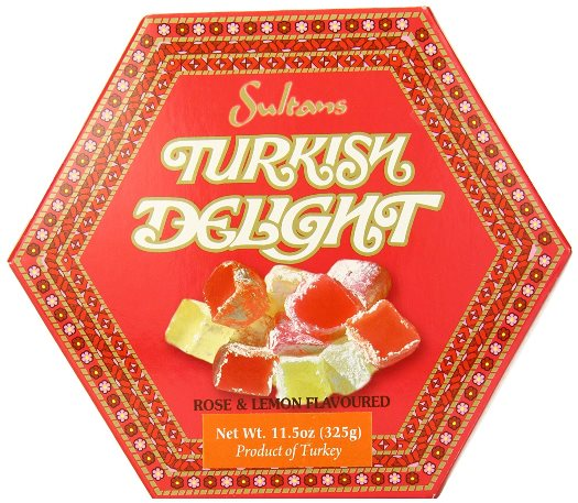 Sultans Turkish Delight, rose & lemon flavoured