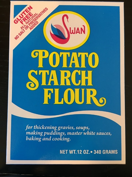 Swan Potato Starch Flower - Gluten Free (SELL-BY JULY 2019)