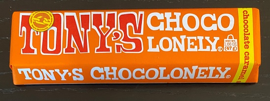 Tonys Chocolonely Milk Chocolate Caramel Sea Salt Bar