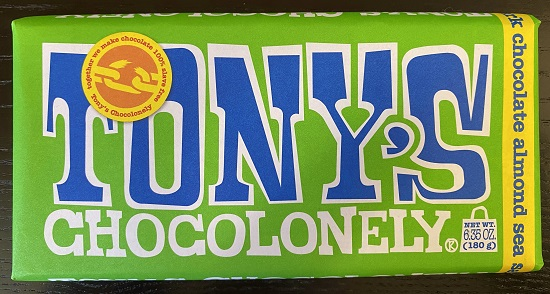 Tonys Chocolonely Dark Choc Almond Sea Salt-Large (OUT OF STOCK)