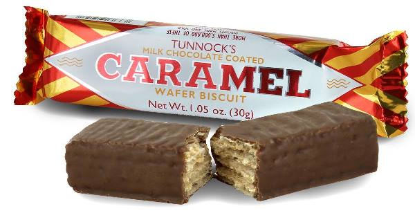 Tunnocks Caramel Wafer Biscuit (SELLBY 31JUL2020)