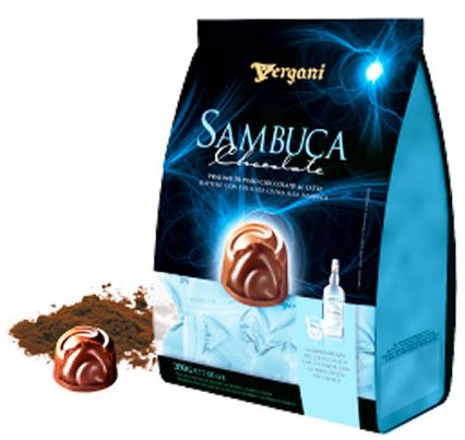 *Vergani Sambuca Milk Choc Pralines (ALCOHOL) 21+(2LEFT)