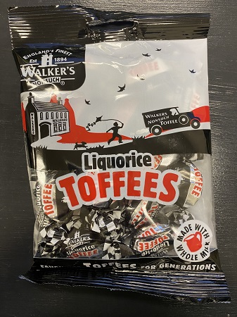 Walkers Nonsuch Liquorice Toffees