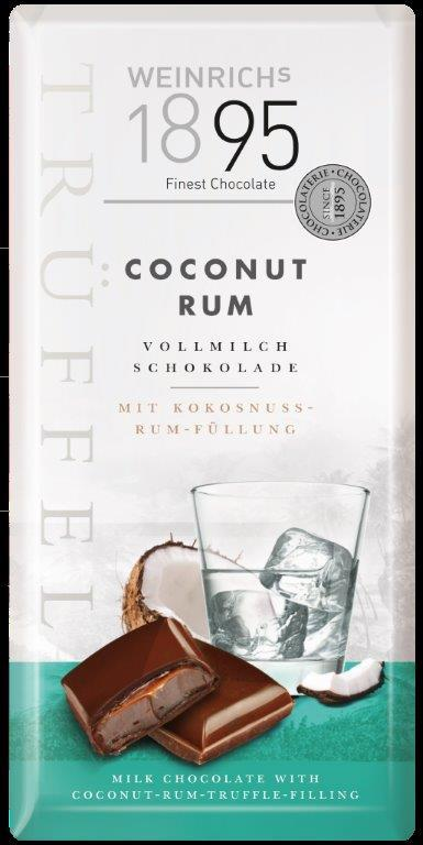 Weinrich Coconut-Rum-Truffle Milk Choc (ALCOHOL) (OUT OF STOCK)