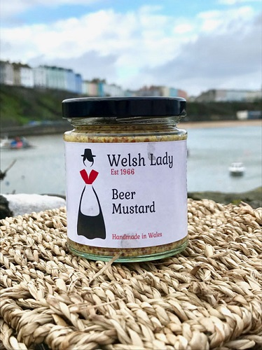 Welsh Lady Beer Coarse Grain Mustard (2 LEFT)