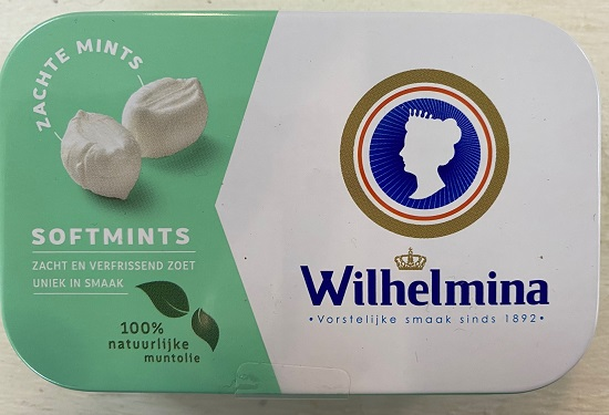 Wilhelmina Softmints (zachte mints)