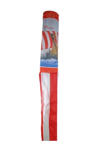 Wind Sock: Viking Ship (OUT OF STOCK)
