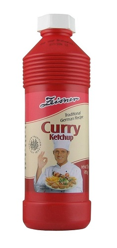 Zeisner Curry Ketchup (spicy) (gluten free, vegan)