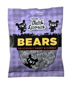 Gustaf's Dutch Licorice Bears
